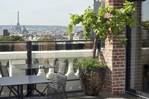 un rooftop montmartre nolin gillot cr ateurs de jardins. Black Bedroom Furniture Sets. Home Design Ideas
